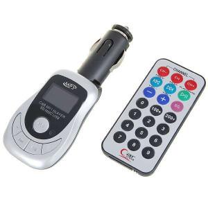 MP3 prehrávač FM Transmitter s IR DO SD / USB