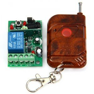 MTDZ006 RF 1-kanálový bezdrôtový diaľkový ovládač so spínacím modulom