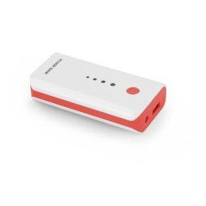 EMP104WR Power Banka 5200mAh bielo červená Esperanza