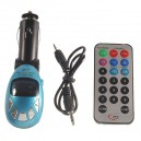 FM transmiter s USB portom a čítačkou SD kariet s DO
