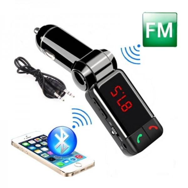 BC06 FM Transmitter s BT handsfree a 2x USB