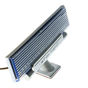 Vizualizačný LED panel do auta aktivovaný hudbou