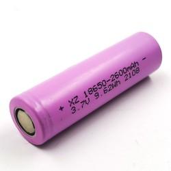 18650 Li-Ion dobíjateľná batéria 3,7V 2600mAh